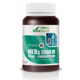Vit D3 2000 UI 60...