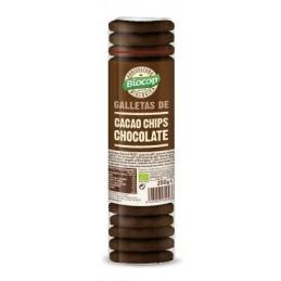 Galletas cacao con chips de...