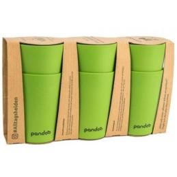 Set 6 Vasos de Bambú Pandoo