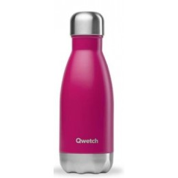 Botella Magenta 260 ml Qwetch